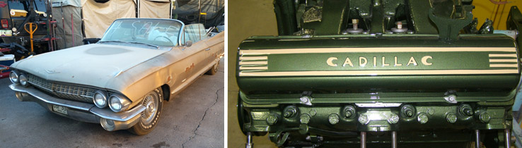 1961 Lucky Luciano Cadillac restoration