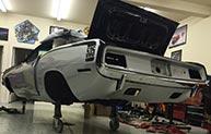 1970 Plymouth Hemi NST Cuda rebuild project