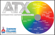 ATX Solventborne Refinish System Color Wheel Promo Img