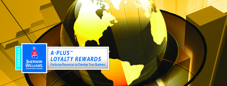 A-Plus Loyalty Rewards Logo and Banner Image