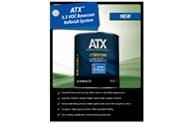 Sistema de acabado de pintura base con compuestos orgánicos volátiles (VOC) ATX™ 3.5