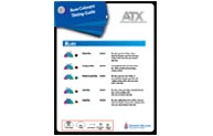 ATX ™ System toner pictographs are designed to provide paint/color technicians a visual explanation of the characteristics of each colorant