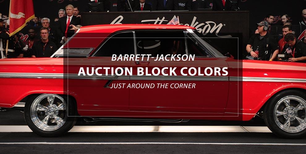 Voiture musclée modifiée Barrett-Jackson