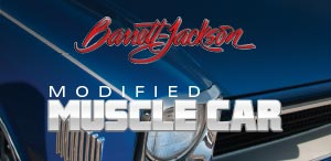 Barrett Jackson Modified Muscle Car