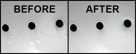 Before After High Build Additive