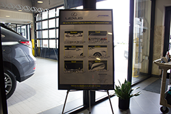 Bredemann Lexus Sign Promo