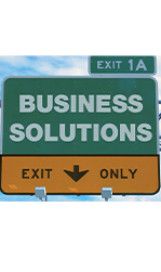 Business Solutions Sign Promo