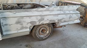 Cadillac Convertible Body Work 22 Img