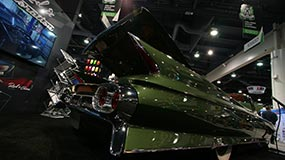 Cadillac Convertible Finished Rear Fender