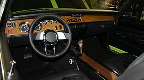 Charger Finished Interior