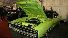 Charger Finished Open Hood