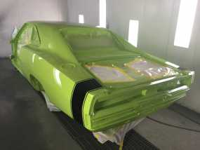Charger Green Rear Img