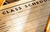Class Schedule Promo