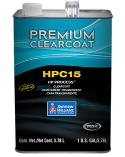 Clearcoat HPC15 HP Process