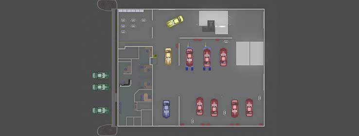 Collision Repair 2d Shop Design IP PR Img