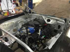 Cuda Engine In Car Img