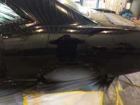Cuda Getting Painted Black Img