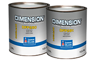 Dimension® Factory Packaged Colors Alpine White DFP280 and Gloss Black DFP281