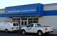 Automotive Finishes Store Van Truck Promo