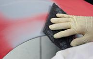 White Glove Sanding gray paint