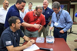 A class activity at the Ecolean Charlotte event