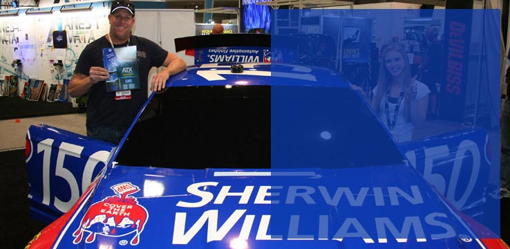 Sherwin-Williams Fastest Lap Sprint Car