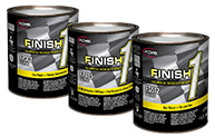 Finish 1 Logo Promo