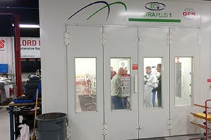 Ford Paint Center Facility Booth Training