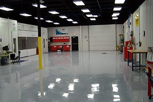 Ford Paint Center Facility Interior view