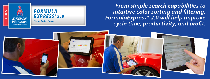 FormulaExpress 2.0 Blue Img