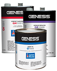 Genesis® GC Premium Single Stage System is extremely durable, provides a high gloss finish, and is resistant to chemicals and solvents.
