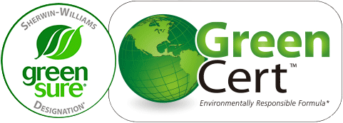 Green Sure and Green Certification Logo Images