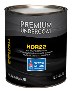 HDR22 High Build Polyester Primer Surfacer