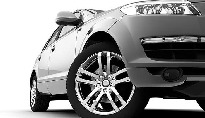 Sherwin Automotive Silver Car Media Center Hero Image