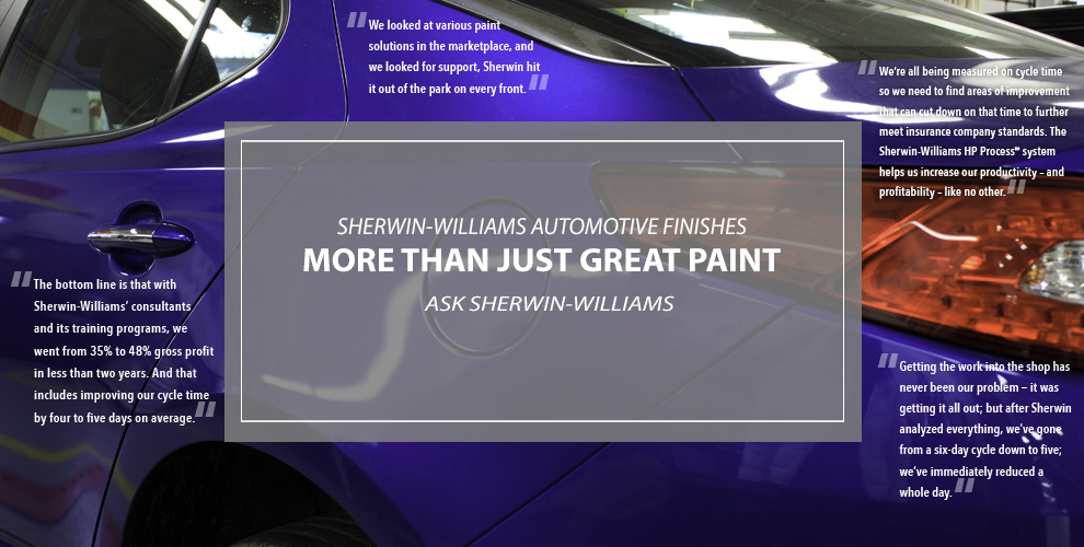 Sherwin-Williams consulting and training courses will improve shop efficiency