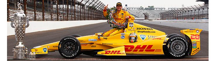 Ryan Hunter-Reay Indianapolis 500 Car