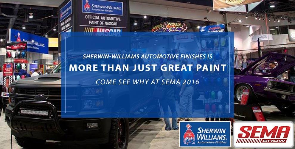 Sherwin-Williams Automotive at SEMA 2016