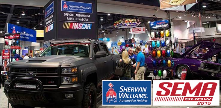 Sherwin-WIlliams Automotive Finishes is a proud supporter of SEMA 2015 convention.