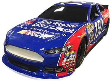 Sherwin-Williams Automotive Finishes SEMA 2015 Nascar Simulator