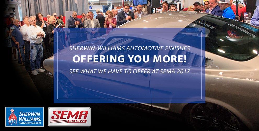 Visit the Sherwin Automotive Booth at SEMA 2017