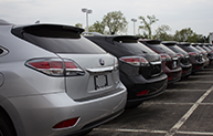 Sales Department lexus car row