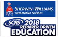 Sherwin-Williams is a proud partner of SEMA SCRS Education at SEMA 2018