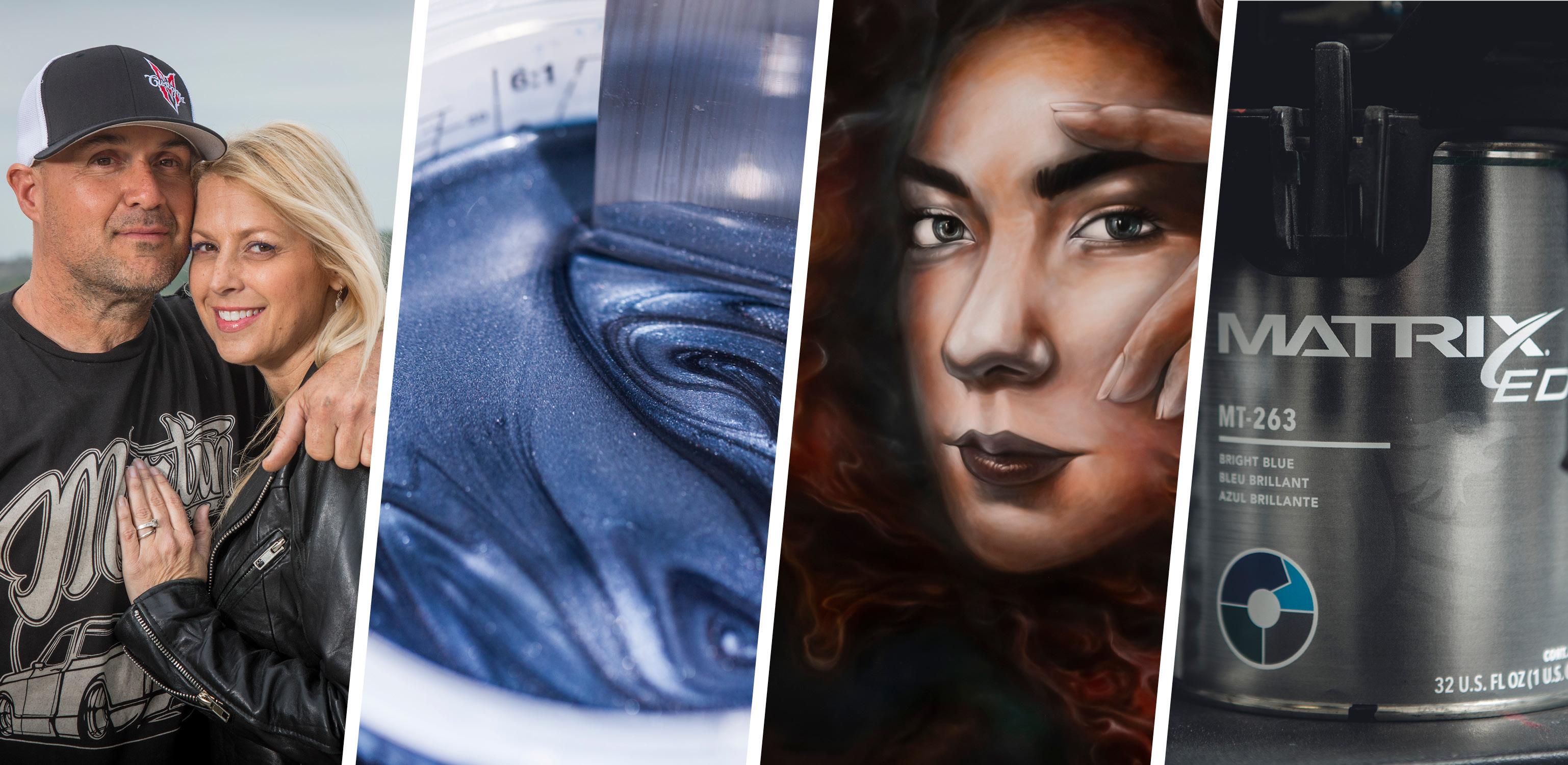Sherwin-Williams - Sema 2019 Booth Artists