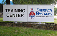 Training Center Sign Promo