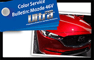 ULTRA 7000® Color Service Bulletin for Mazda 46V Promo