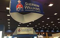 Sherwin booth at CONEXPO
